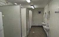 Мобильный туалетный модуль на 4 кабинки, фото 1