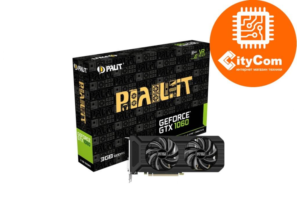 Видеокарта Palit GeForce GTX 1060 DUAL 3Gb Арт.6451