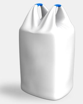 Мешок (биг-бэг) 90х90х150, 2 стропы, плотность 160г/м2, с вкладышем