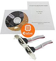 Контроллер COM+LPT, плата расширения COM (RS-232) + LPT Арт.2444