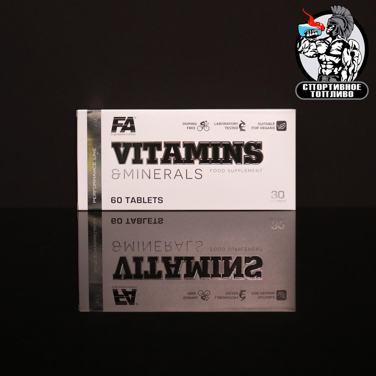 FA Nutrition -  Vitamins & Minerals 60табл/30 порций