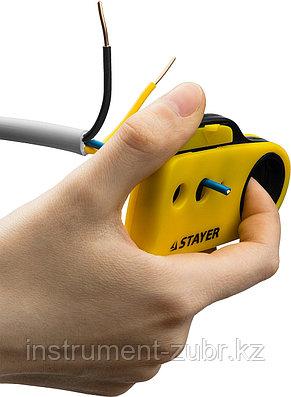 Стриппер SX-8 для снятия изоляции кабелей, до 8 мм, STAYER, фото 2