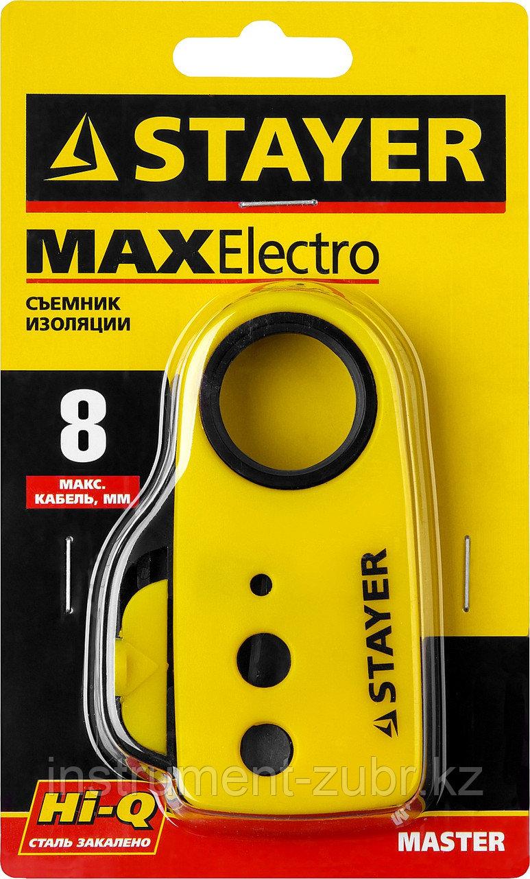 Стриппер SX-8 для снятия изоляции кабелей, до 8 мм, STAYER