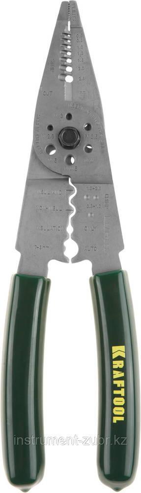 Стриппер многофункциональный MK-10, 0.75 - 6 мм2, KRAFTOOL