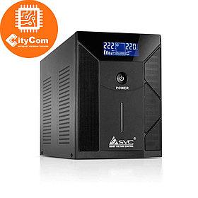 Источник Бесперебойного питания UPS, SVC, V-3000-F-LCD, Smart Арт.4368