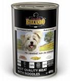 Belcando Best Quality meat with noodle, Белькандо влажный корм для собак с телятиной банка 800гр.