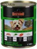 BELCANDO Best Quality meat with vegetable, Белькандо влажный корм для собак телятина с овощами, банка 800гр.