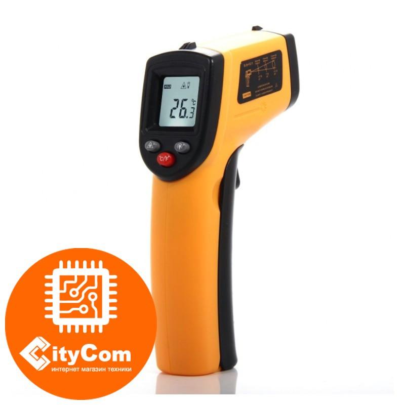 Не медицинский пирометр. Строительный инфракрасный измеритель температуры до 750°С Арт.4687