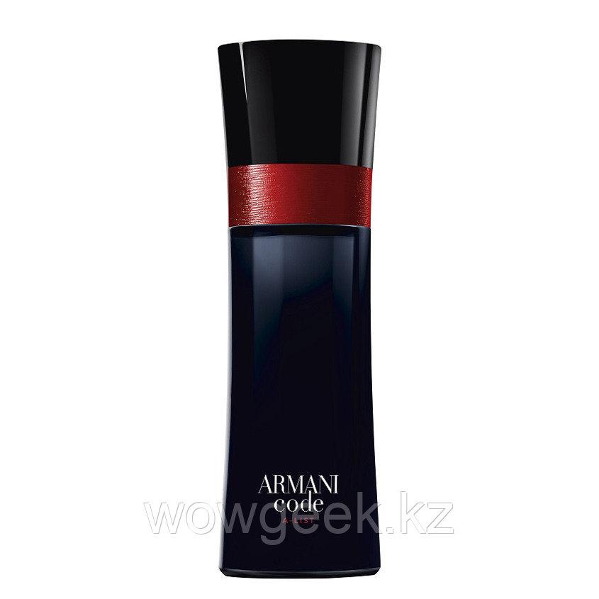 Мужской парфюм Giorgio Armani Armani Code A-List