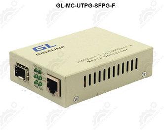 Конвертер GIGALINK UTP-SFP, 10/100/1000Мбит/с в 1000Мбит/с