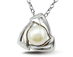Серебряный кулон с Жемчугом Brosh Jewellery (Серебро 925)