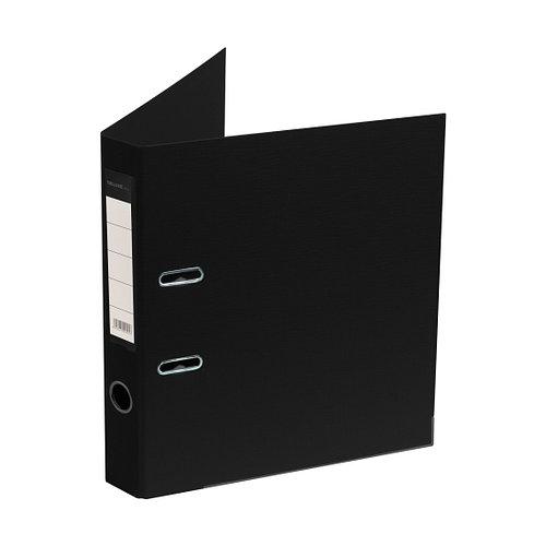 """Папка регистратор Deluxe с арочным механизмом, Office 2-BK19 (2"""" BLACK), А4, 50 мм, чёрный"""