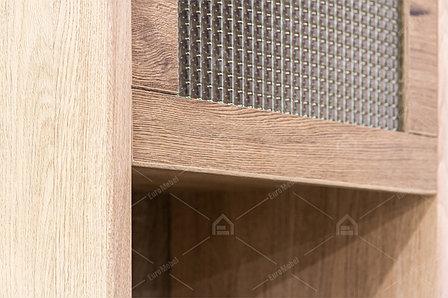 Шкаф витрина 2Д (Diesel 1V1D1S2N/D3), коллекции Дизель, Дуб Мадура/Истамбул, Анрэкс (Беларусь), фото 2