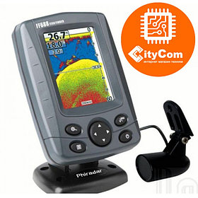 Эхолот проводной (на лодку) FF688A Portable Color Fish Finder Арт.3831