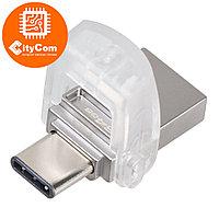 USB Флеш 64GB 3.0 Kingston OTG DTDUO3C/64GB металл Арт.5301
