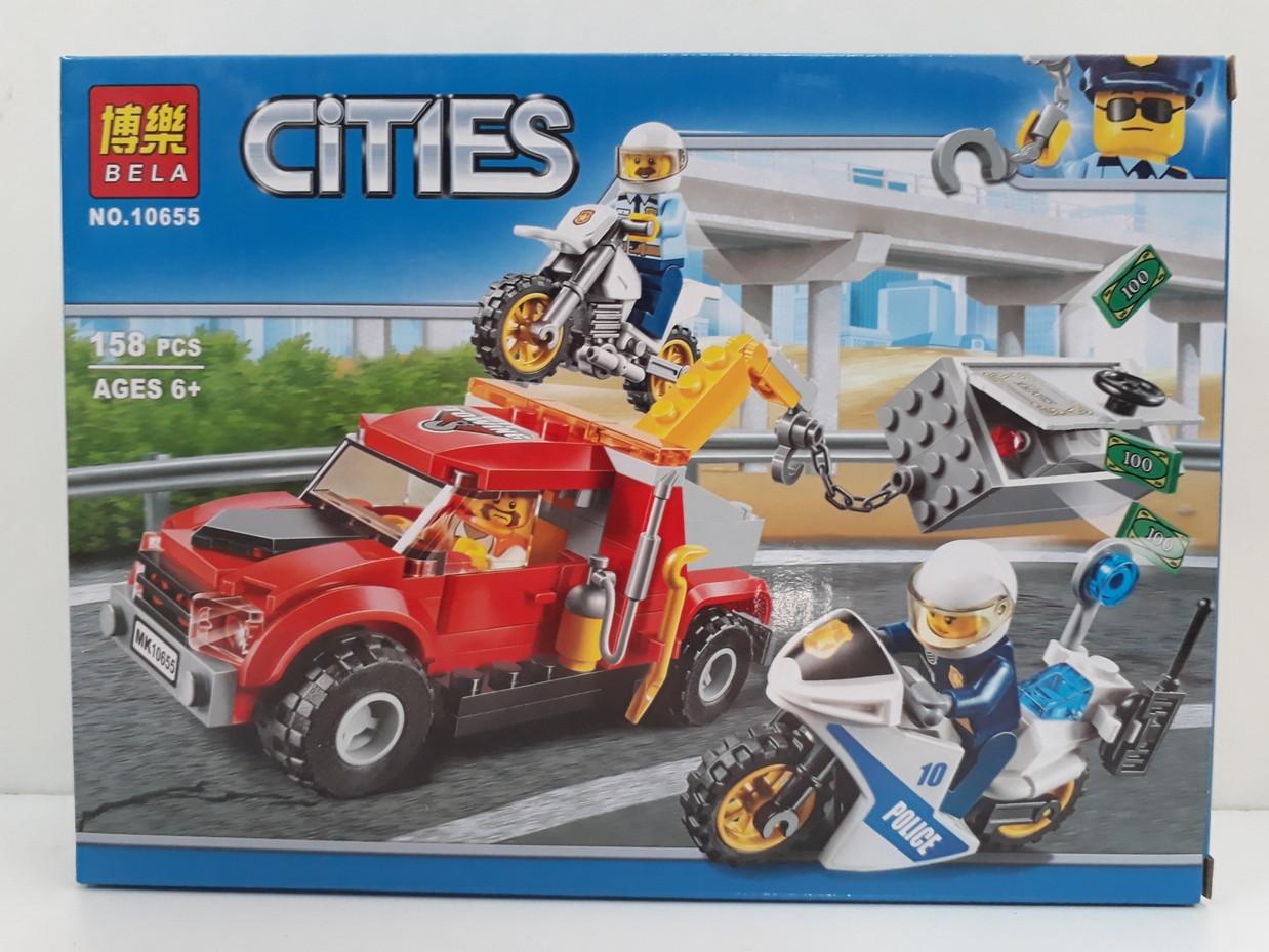 Конструктор Bela Cities 10655 158 pcs. Сити. Урбан