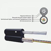 Подвесной оптический кабель с металлическим силовым элементом ОК/Т-Т