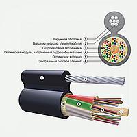Оптический кабель подвесной с металлическим силовым элементом ОК/Т-М