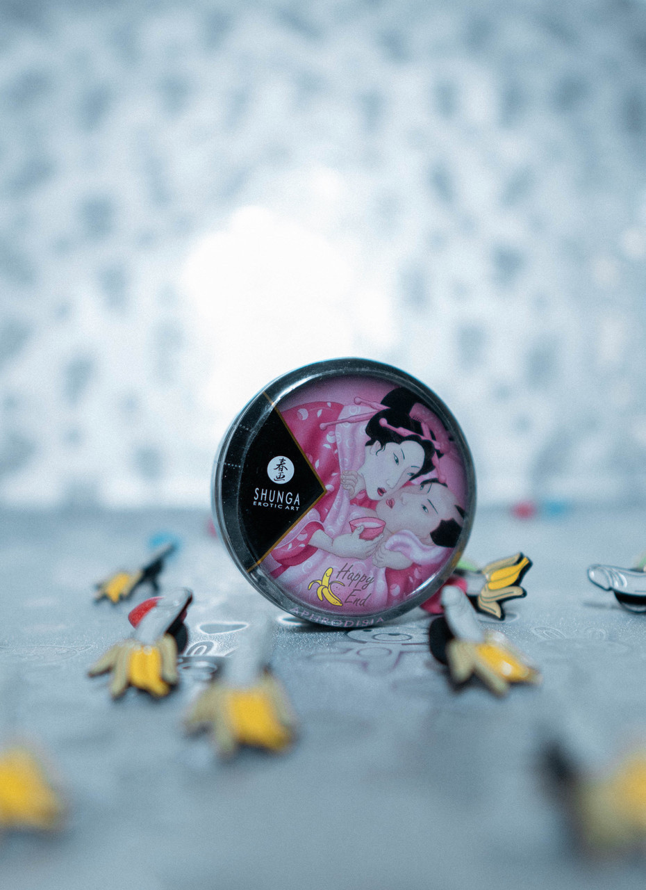Массажное аромомасло-свеча Shunga, с ароматом розы, 30мл - фото 3