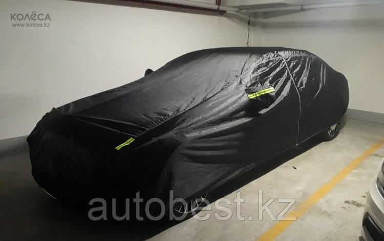 Чехол - (тент) на автомобиль «Oxford», полиэстер, защитный слой, морозоустойчивый, черный, разм. индивидуальн