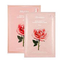 Тканевая маска JM SOLUTION Glow Flower Firming Mask Rose(Поштучно)