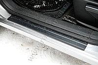 Накладки на внутренние пороги дверей Nissan Qashqai 2006-2010