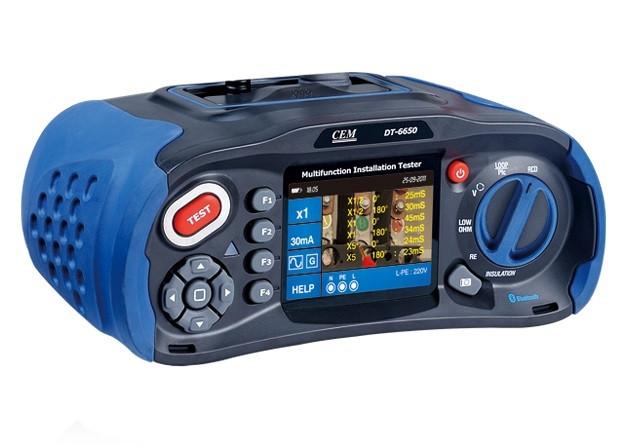 Многофункциональный тестер электроустановок CEM DT-6650