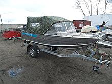 Алюминиевые мотрные лодки с дистанционным управлением Kazboat 42 к