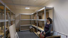 Металлические стеллажи для склада фармецевтической компании 8