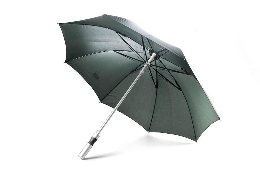 """Зонт - трость (23""""*14,темно -  зеленый, )"""