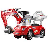 Каталка ToysMax Экскаватор электрическая с пультом, фото 1