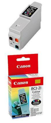 Картридж Canon BCI-21/24C PrintRite Цветной