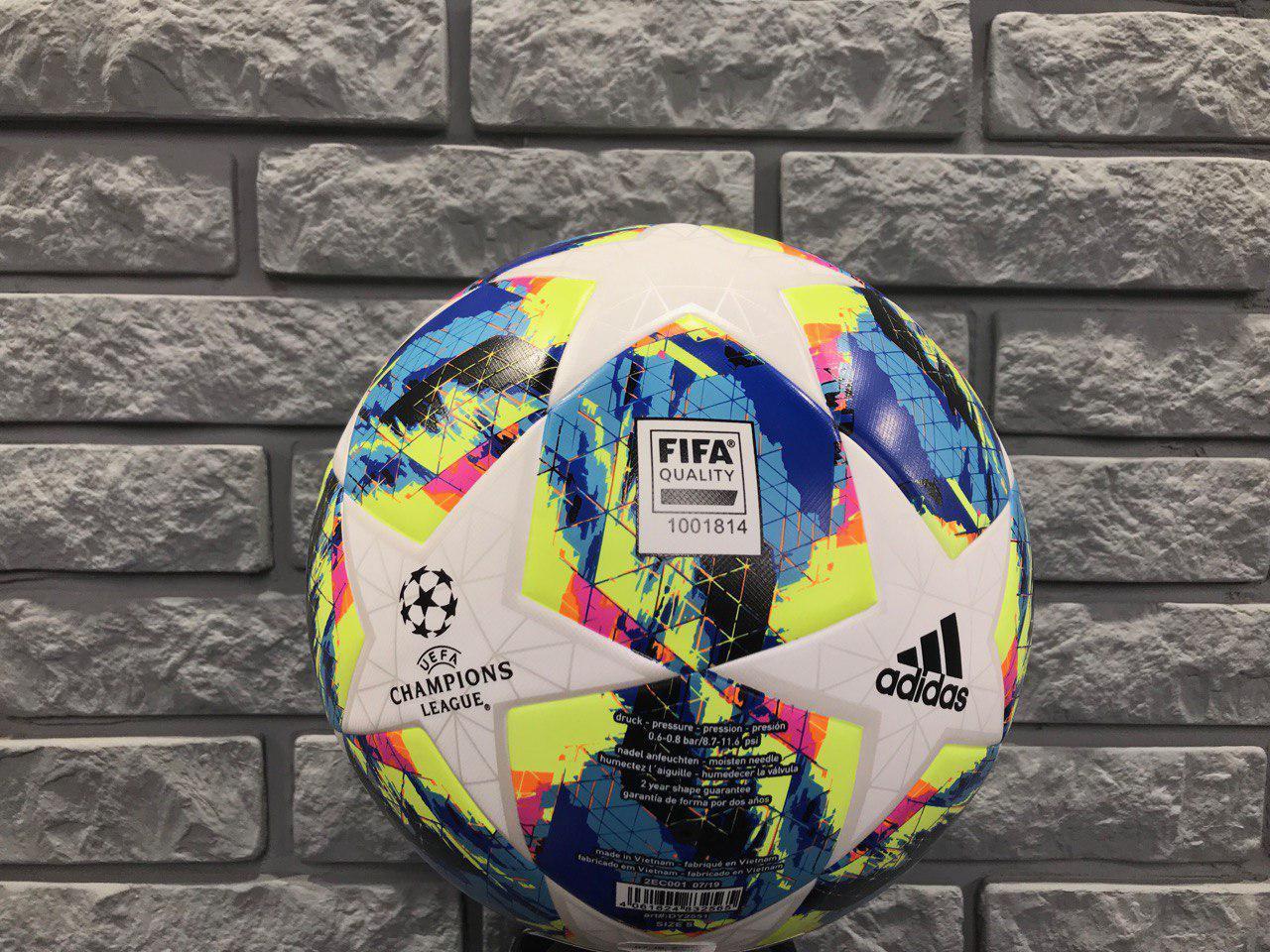 Мяч тренировочный Adidas Finale Training CHAMPIONS LEAGUE DY2551