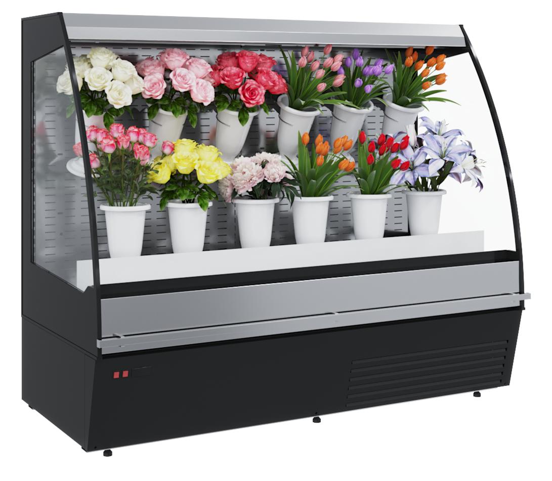Горка холодильная для цветов Carboma F 16-08 VM 1,0-2 0020 FLORA