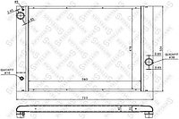 Радиатор системы охлаждения STELLOX 10-25155-SX BMW E65/E66 3.6-6.0 01>