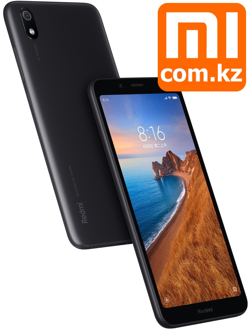 Смартфон Xiaomi Mi Redmi 7A 2/32Gb Black. Оригинал. Арт.7001