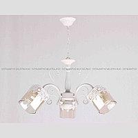 Классическая люстра на 3 лампы Белая