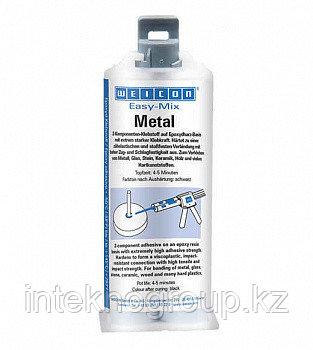 WEICON Клей эпоксидный Metal (50мл). Металл-минута. Эпоксидный минутный клей
