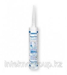 WEICON Aqua-Flex (310мл) Специальный клей-герметик для мокрых и влажных поверхностей. Белый.