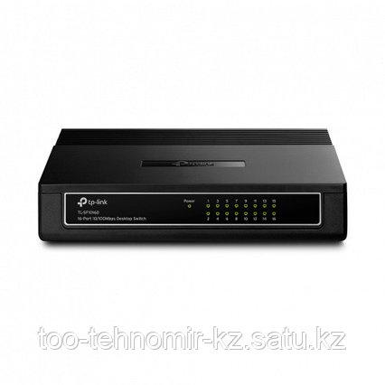 Хаб TP-Link 16-port TL-SF1016D 16-port, 10/100Base