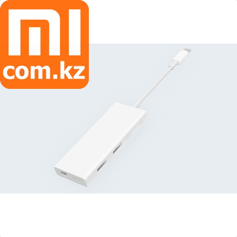 Адаптер (переходник) Xiaomi Mi USB-C to mini Displayport + 2xUSB 2.0. Конвертер. Оригинал. Арт.5486