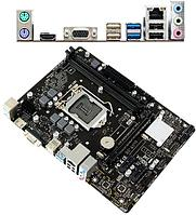 Материнская плата Biostar H310MHP MB Socket1151, MATX, iH310 (VGA+HDMI, SB, GNIC), 2DDR4, PCIx16, 2PCIx1