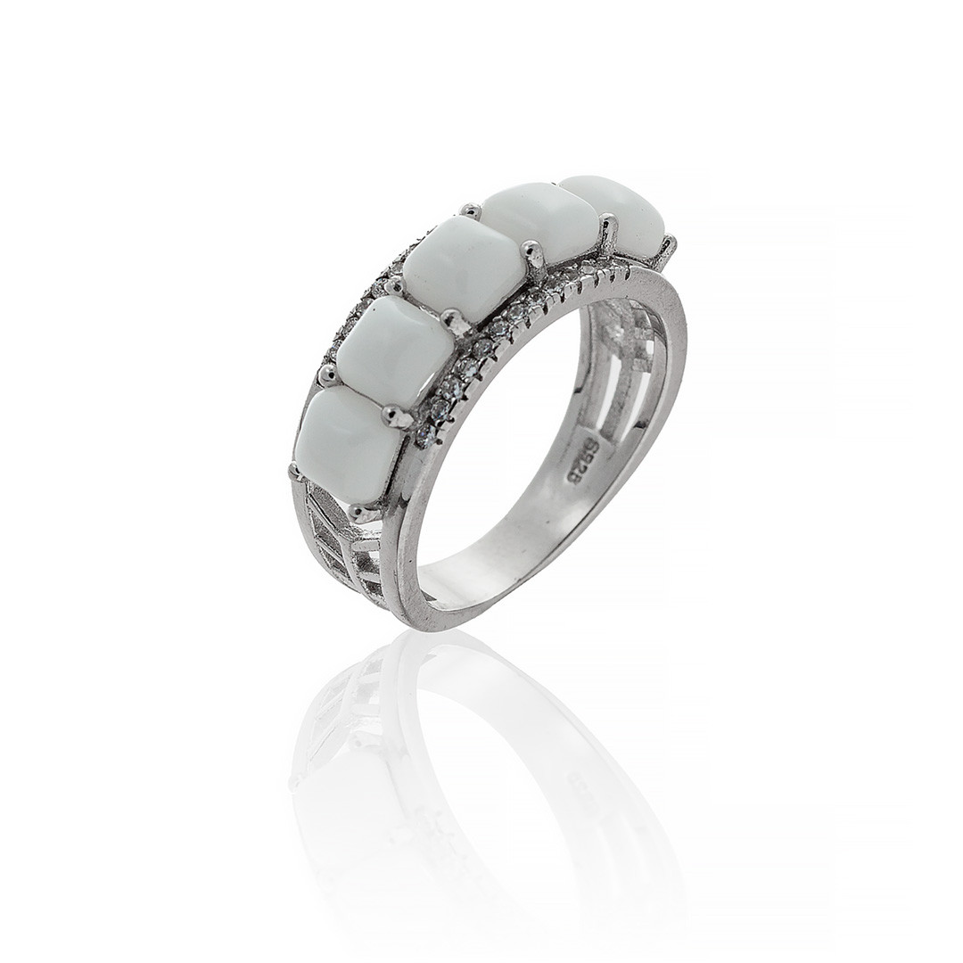 Кольцо Brosh Jewellery Серебро 925 (белый)