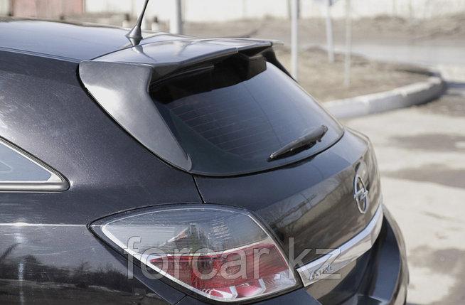 Накладка на задний спойлер(2мм) Opel Astra 2007-2009, фото 2