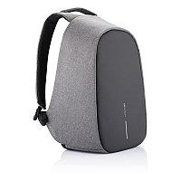 Рюкзак Bobby Pro с защитой от карманников, серый, серый; черный, Длина 29 см., ширина 16 см., высота 44,5 см.,