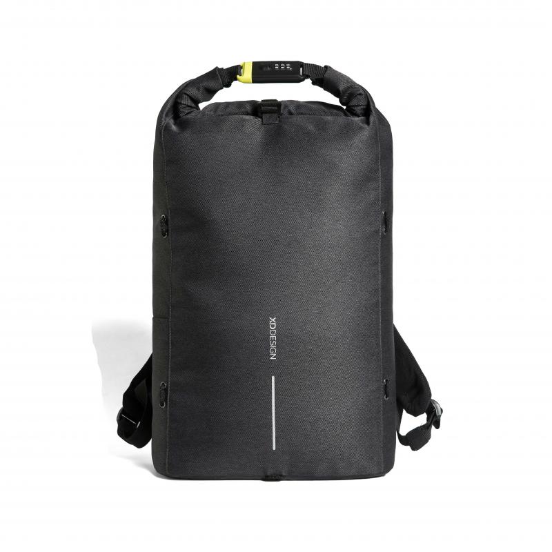 Рюкзак Urban Lite с защитой от карманников, черный, черный, Длина 31,5 см., ширина 14,5 см., высота 46 см.,