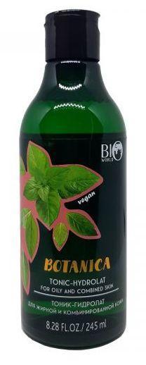 Тоник –гидролат для жирной и комбинированной кожи Botanica Bio World