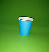 "Бумажный стакан однослойный 250 мл ""Blue"""