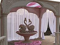 Изготовления декораций на свадьбу из пенопласта