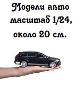Модели авто масштаб 1/24, около 20 см.